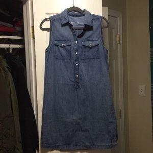 Gap denim tank dress